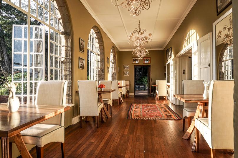 Giraffe Manor Breakfast area