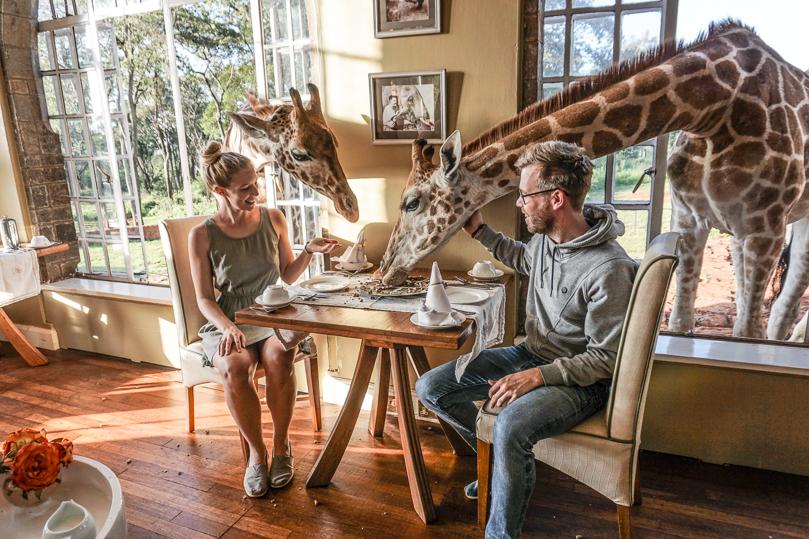 Giraffe Manor Breakfast