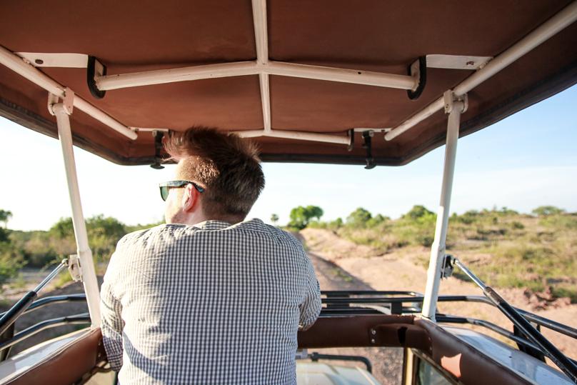 Berni at Safari