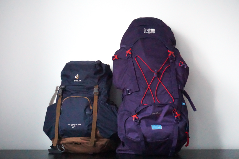 my backpacks