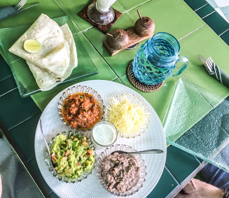 Akar Cafe Mexican Plate