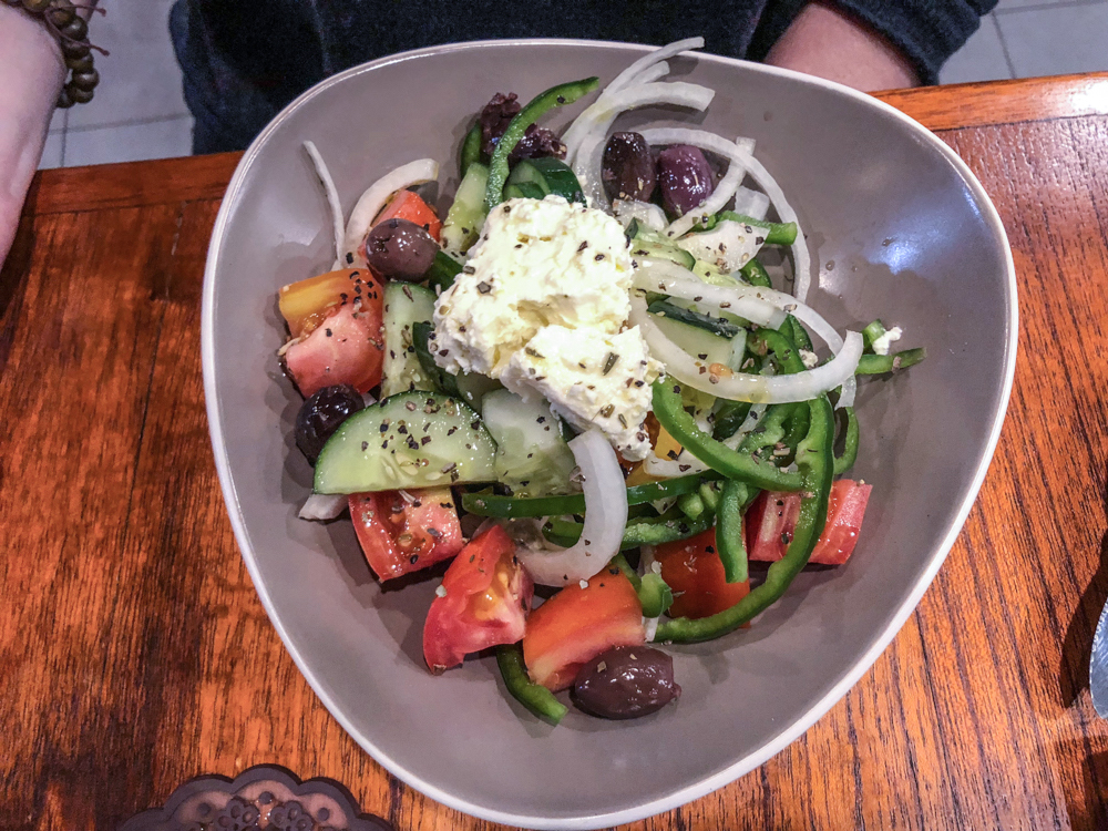 Cafe Greco Greek Salad