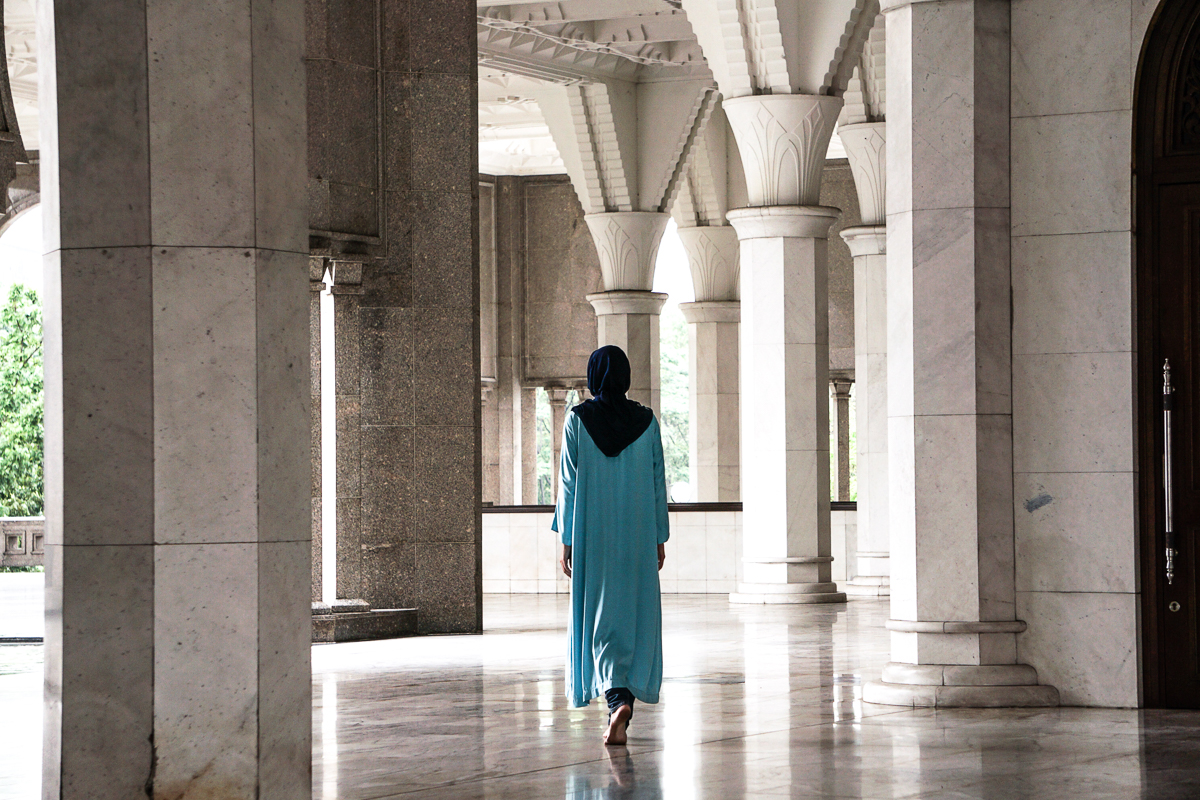 Masjid Wilayah Julia Walking
