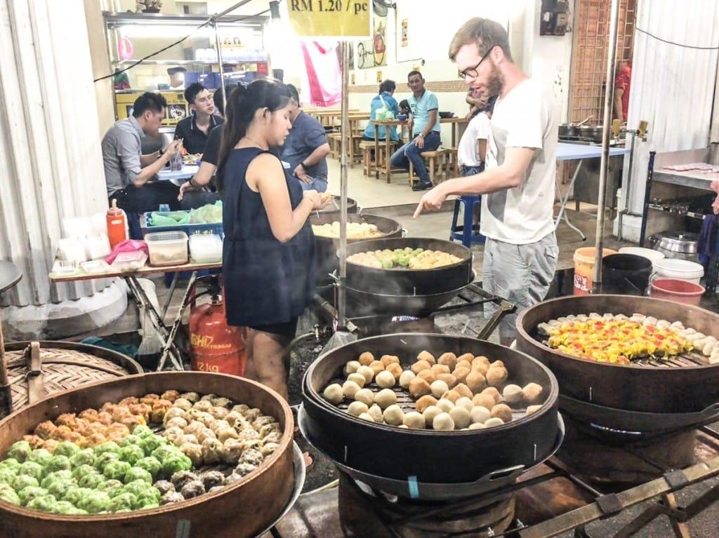 Kimberley Street Hawker Stalls Dumplings
