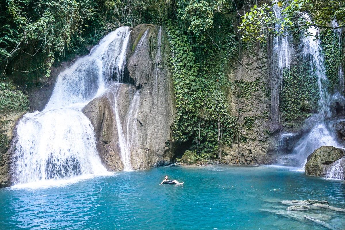 Pahangog Waterfalls Julia Tubing