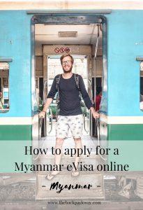 Myanmar eVisa Pinterest Pin