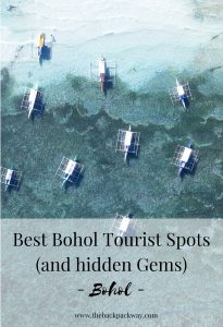 Best Bohol Tourist Spots Pin