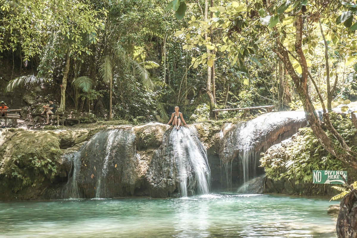 Lagaan Falls Natural Slide