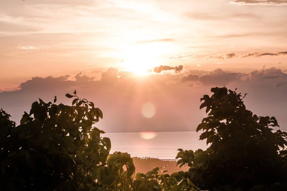 Mount Bandilaan Sunset