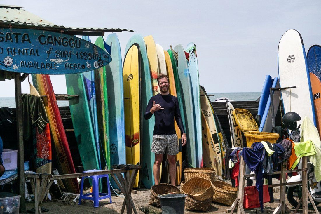 Berni Surfing Canggu