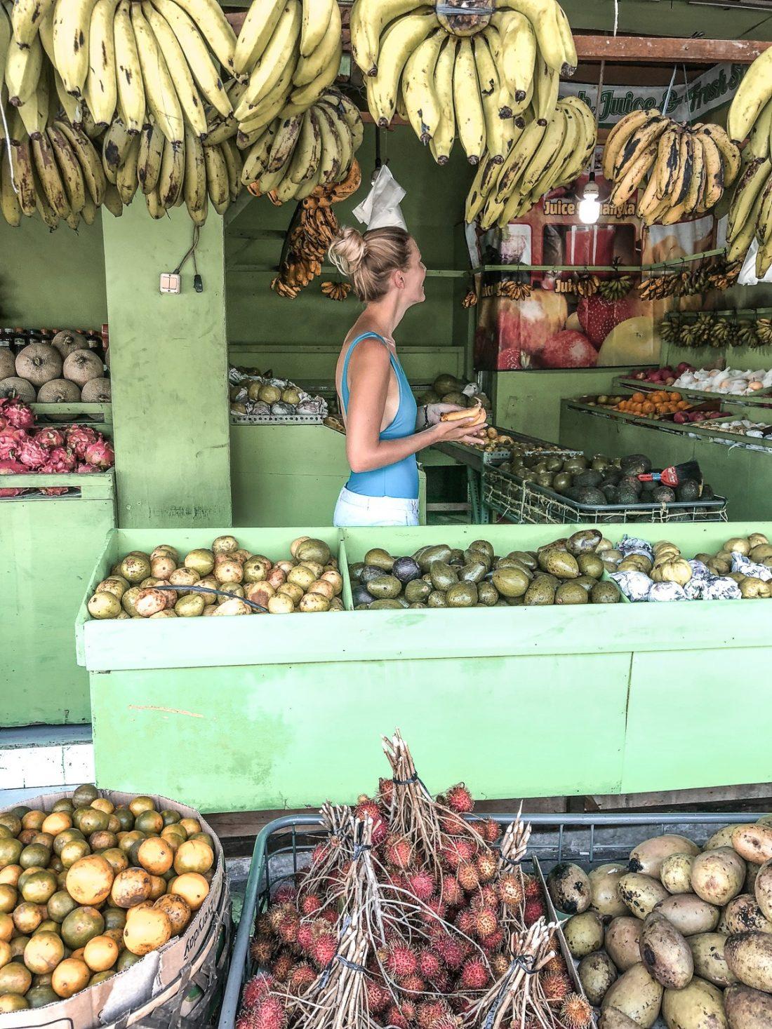 Fruit Market Bali