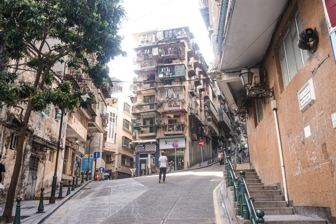 Macau Streets Hong Kong
