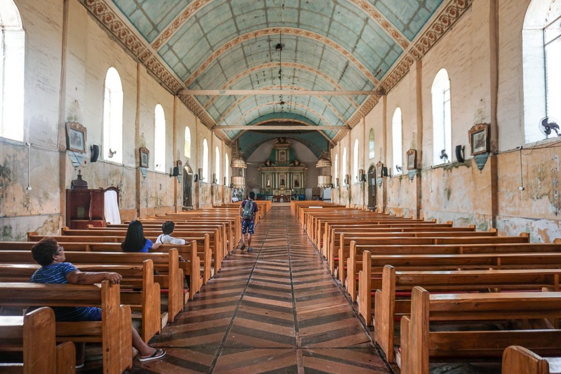 San Isidro Labrador Church Inside