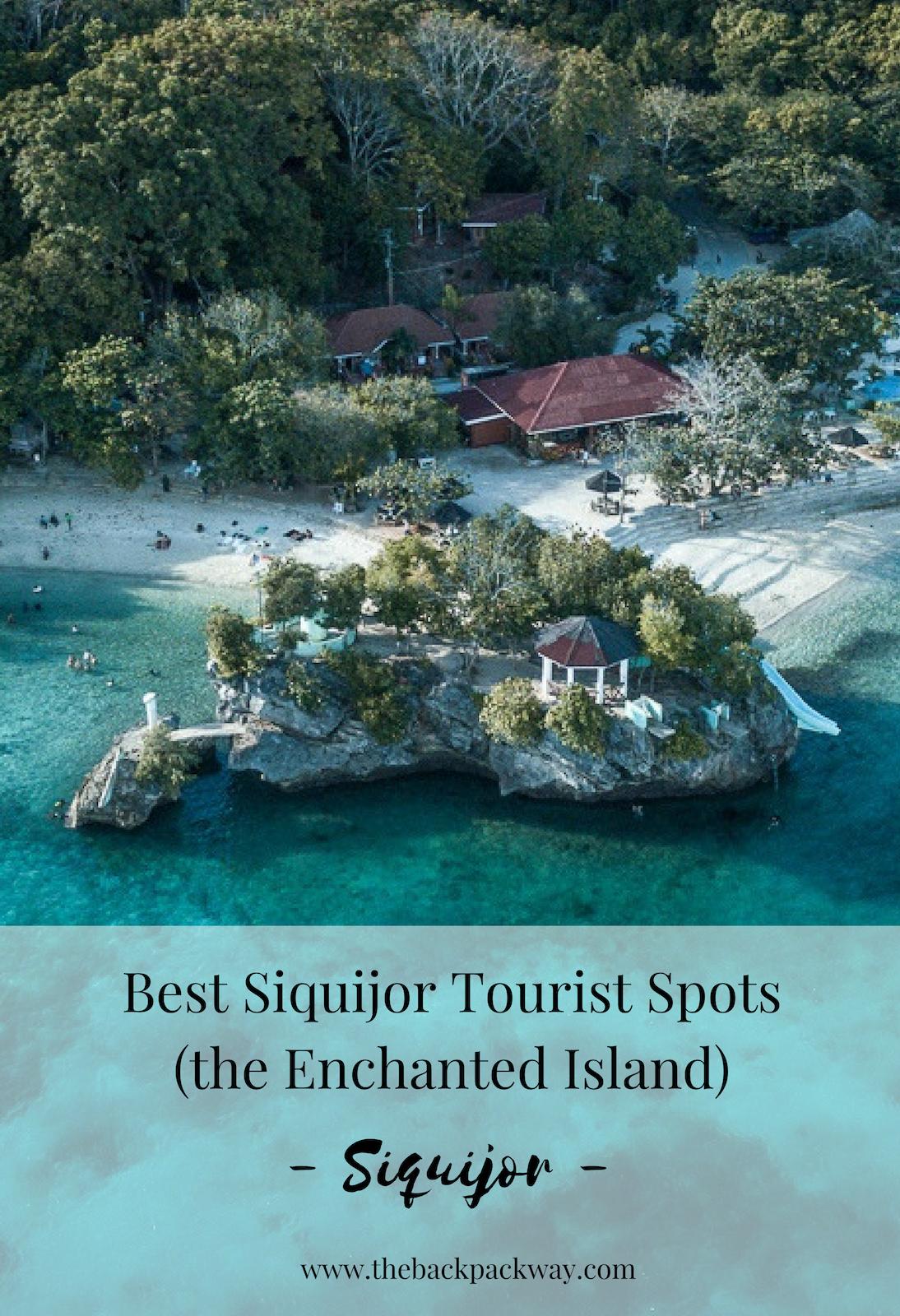 best siquijor tourist spots