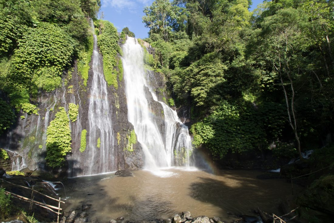 Banyumala Twin Waterfall Bali Waterfalls