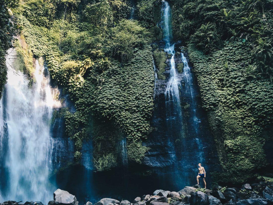 Fiji Lemukih Bali Waterfalls