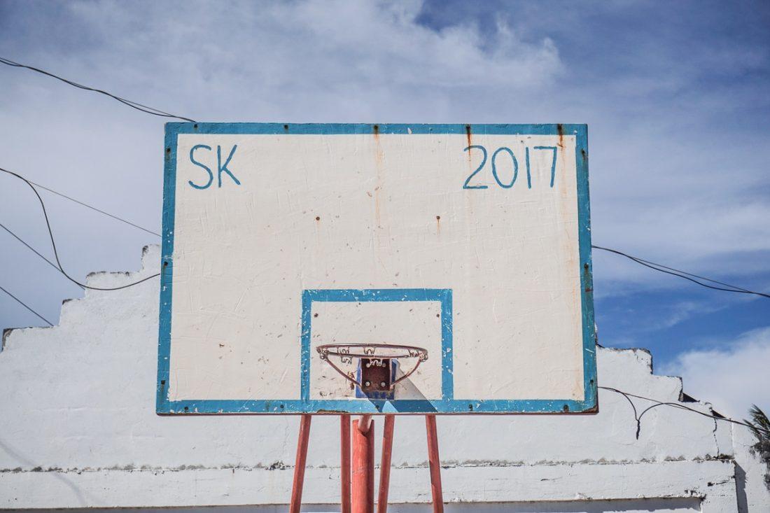 Basketball Hoop Malapascua Island