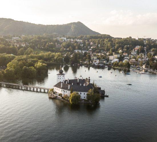 Gmunden Schloss Ort Salzkammergut