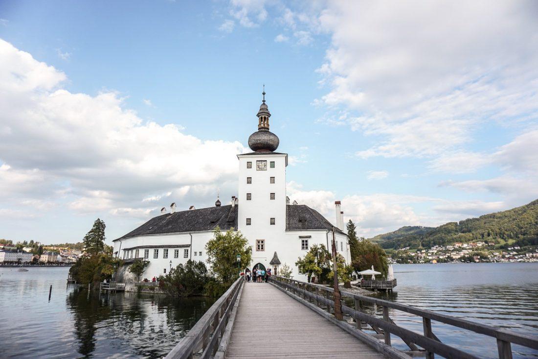 Lake Castle Schloss Ort Salzkammergut