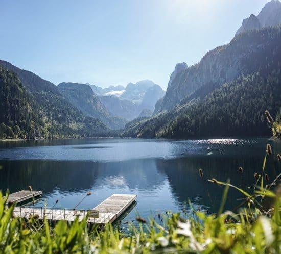 Lake Gosausee Austrian Lakes