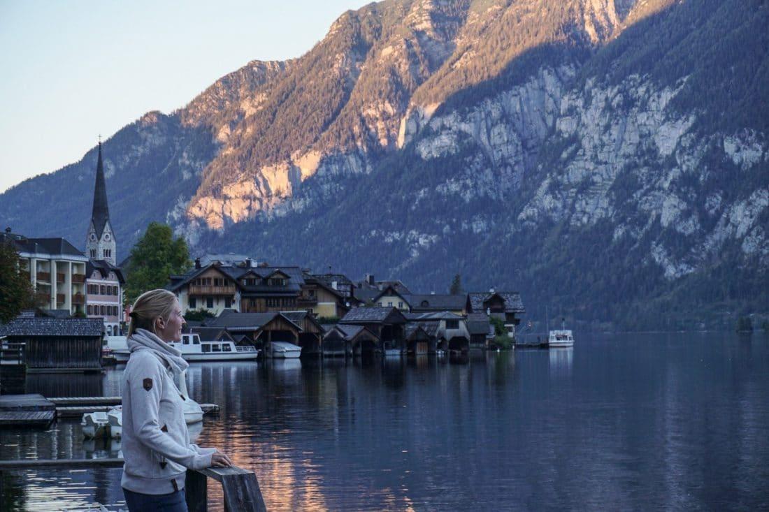 Lake Hallstatt Austrian Lakes