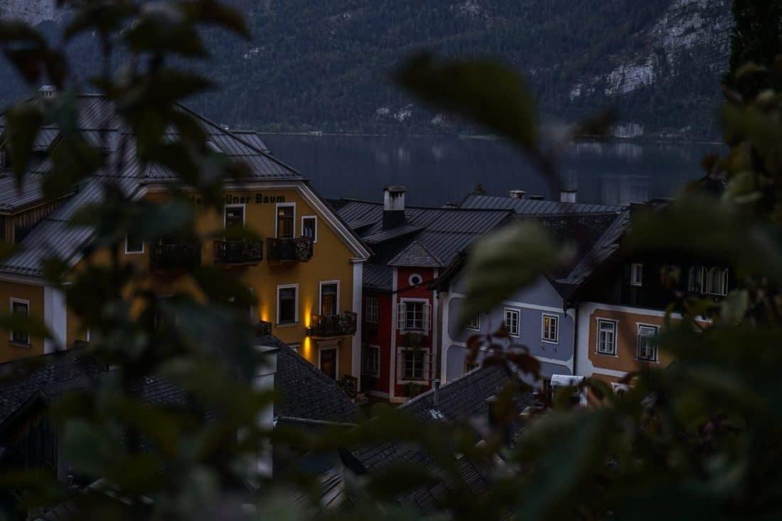 Lake Hallstatt Town Austrian Lakes