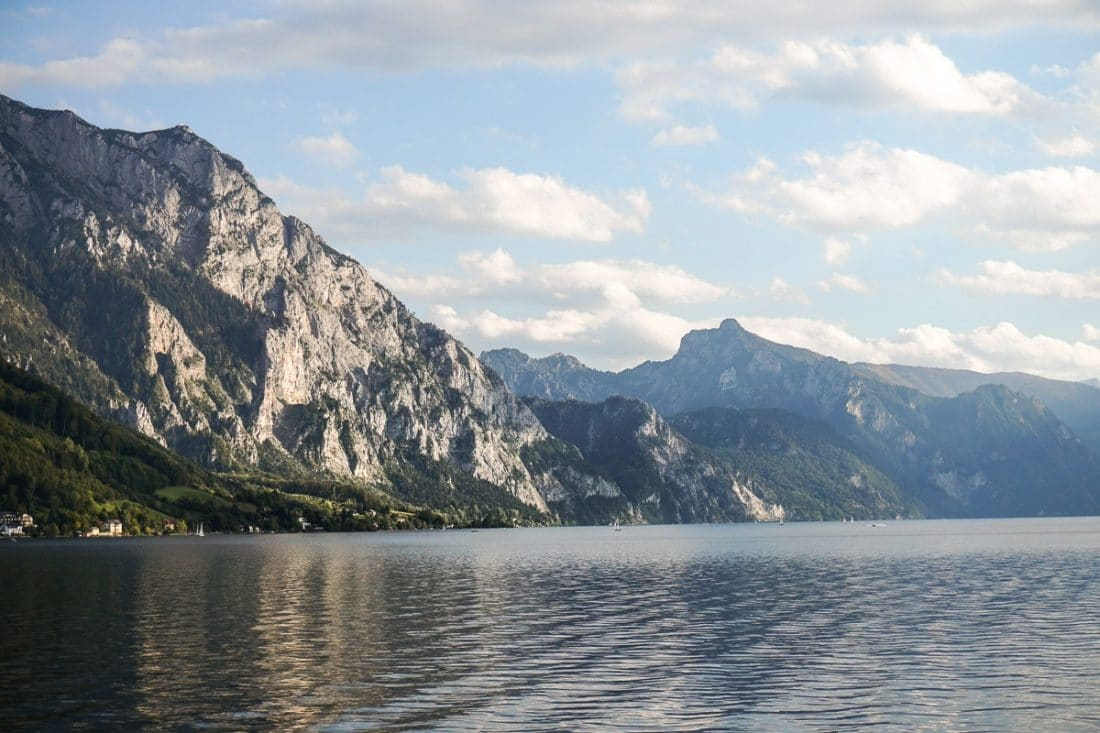 Lake Traunsee Austrian Lakes