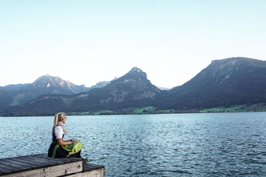 Lake Wolfgangsee St Wolfgang Salzkammergut