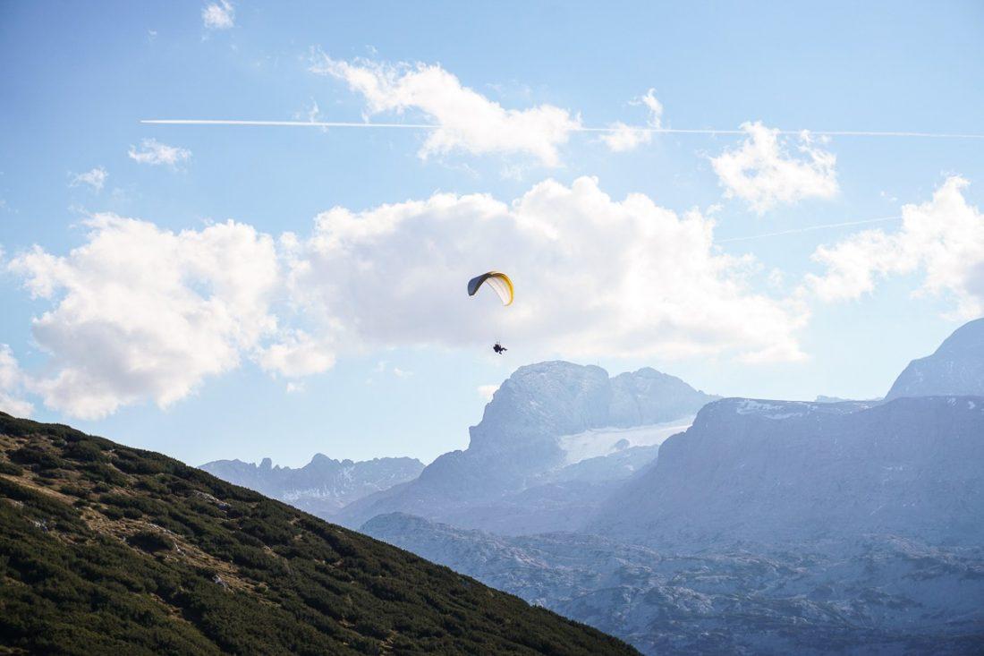 Paragliding Krippenstein Salzkammergut