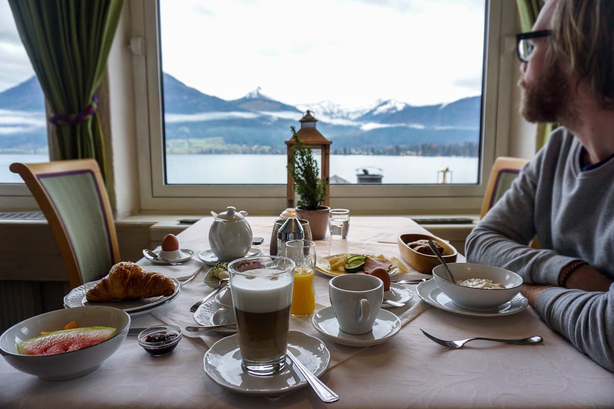 Breakfast View Hotel Peter Christmas in Austria