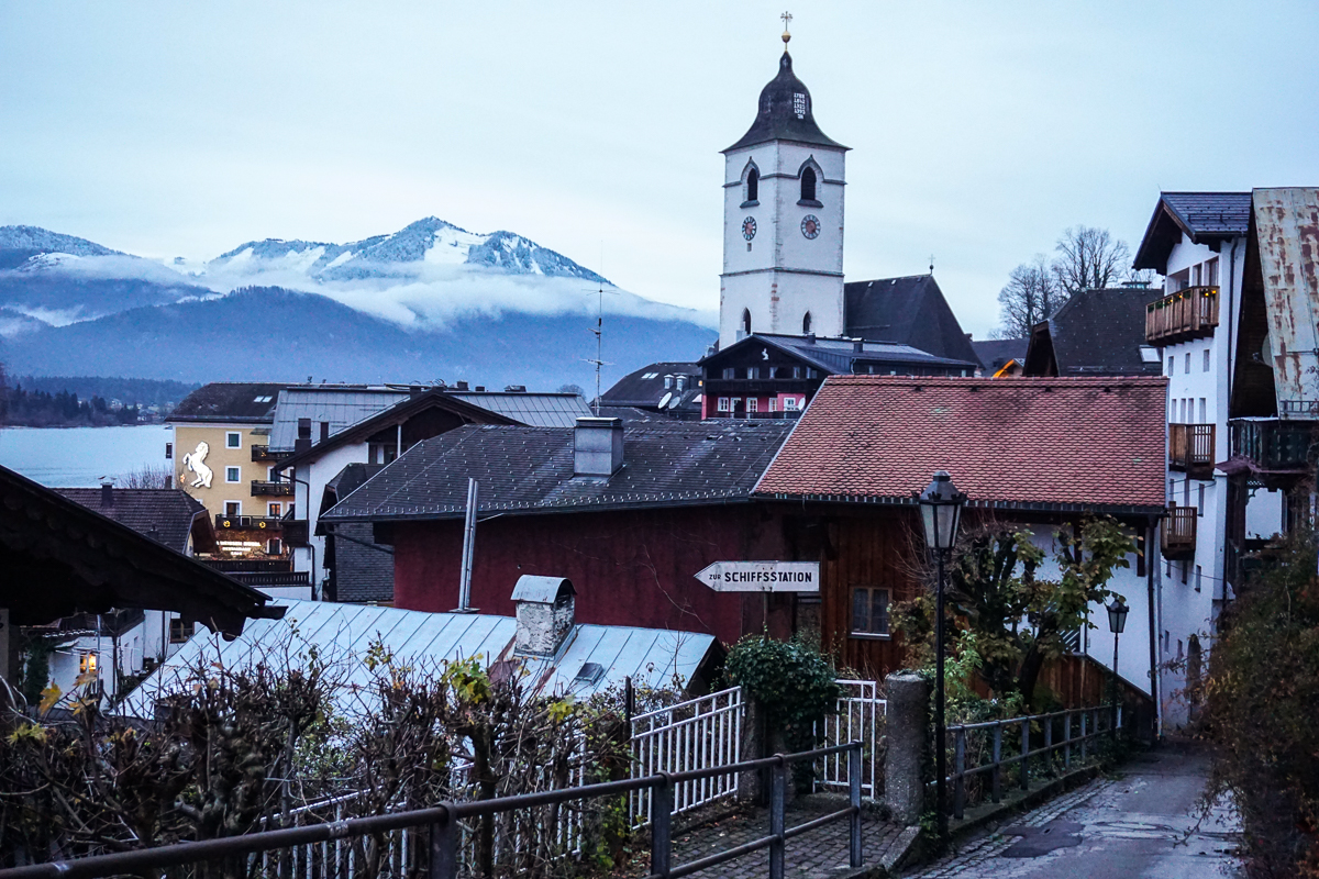 St. Wolfgang Christmas in Austria